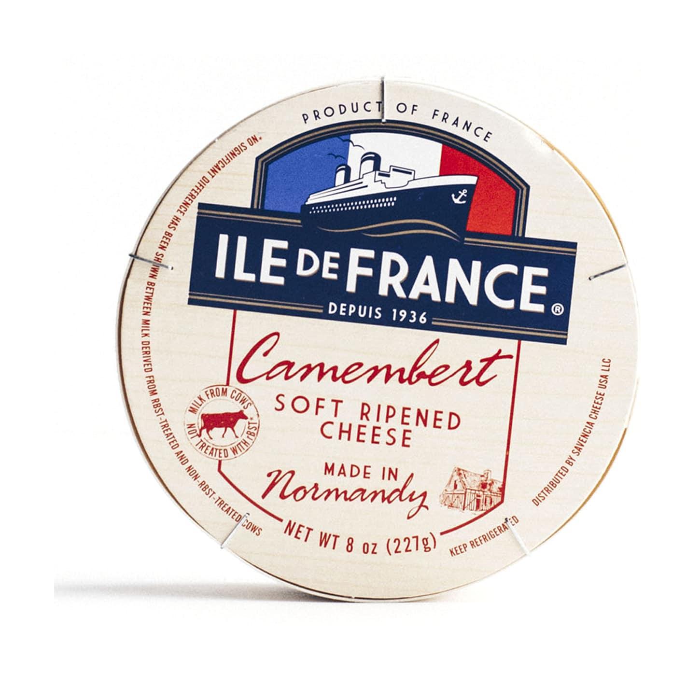 ile de france camembert packaging