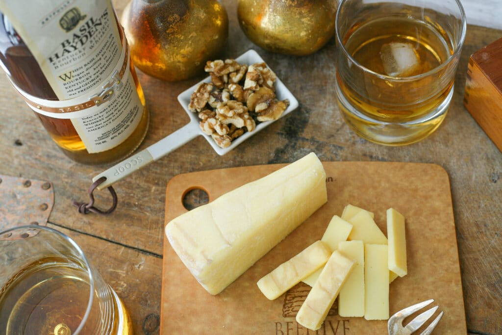 beehive pour me a slice, nuts and bourbon