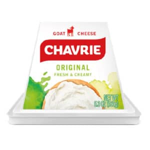 Chavrie goat cheese pyramid