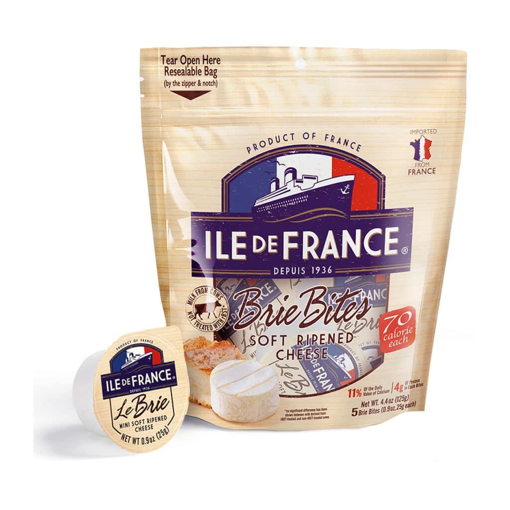 ile de france brie bites packaging