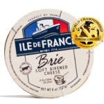 ile de france brie packaging and gold medal