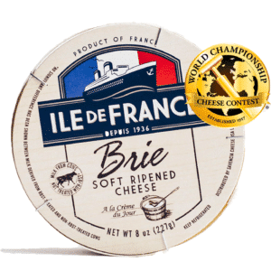 ile de france brie packaging and medal
