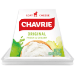 Chavrie goat cheese original pyramid packaging