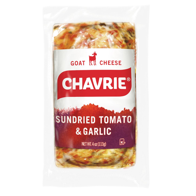 chavrie goat cheese sundried tomato & garlic