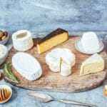 Party planner gift box cheeses