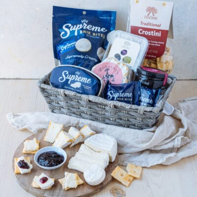 brie cheese board box