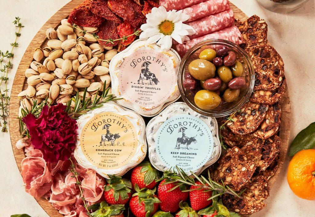 Dorothys cheeses soft ripened