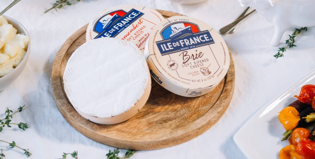 ile de france camembert and brie