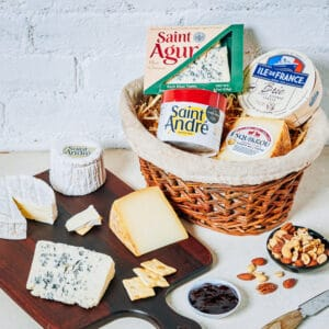 best of france cheese box
