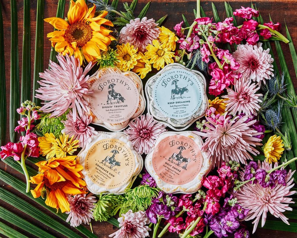 Dorothys creamery brand soft ripened cheese