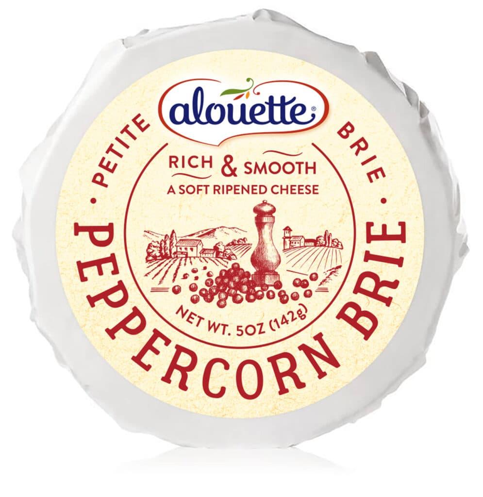 alouette brie peppercorn