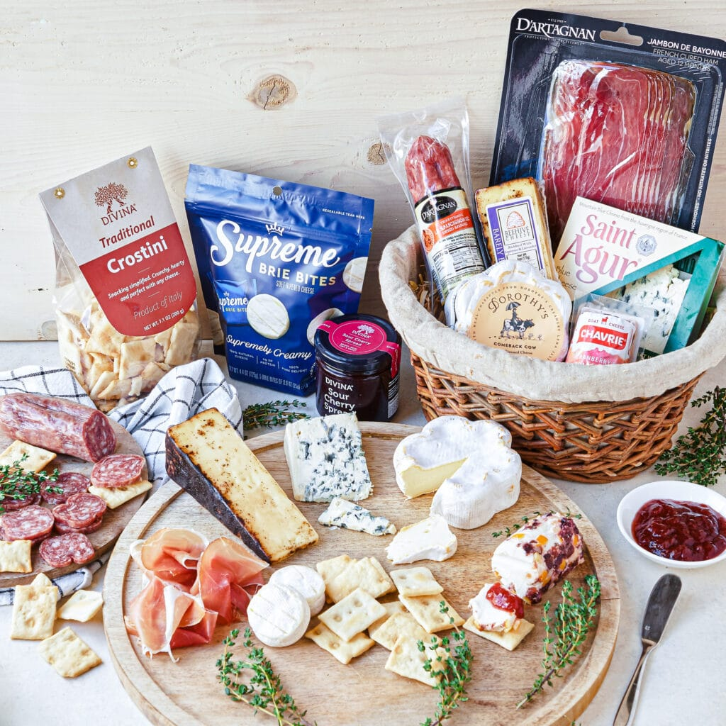 Mother's day cheese board gift idea
