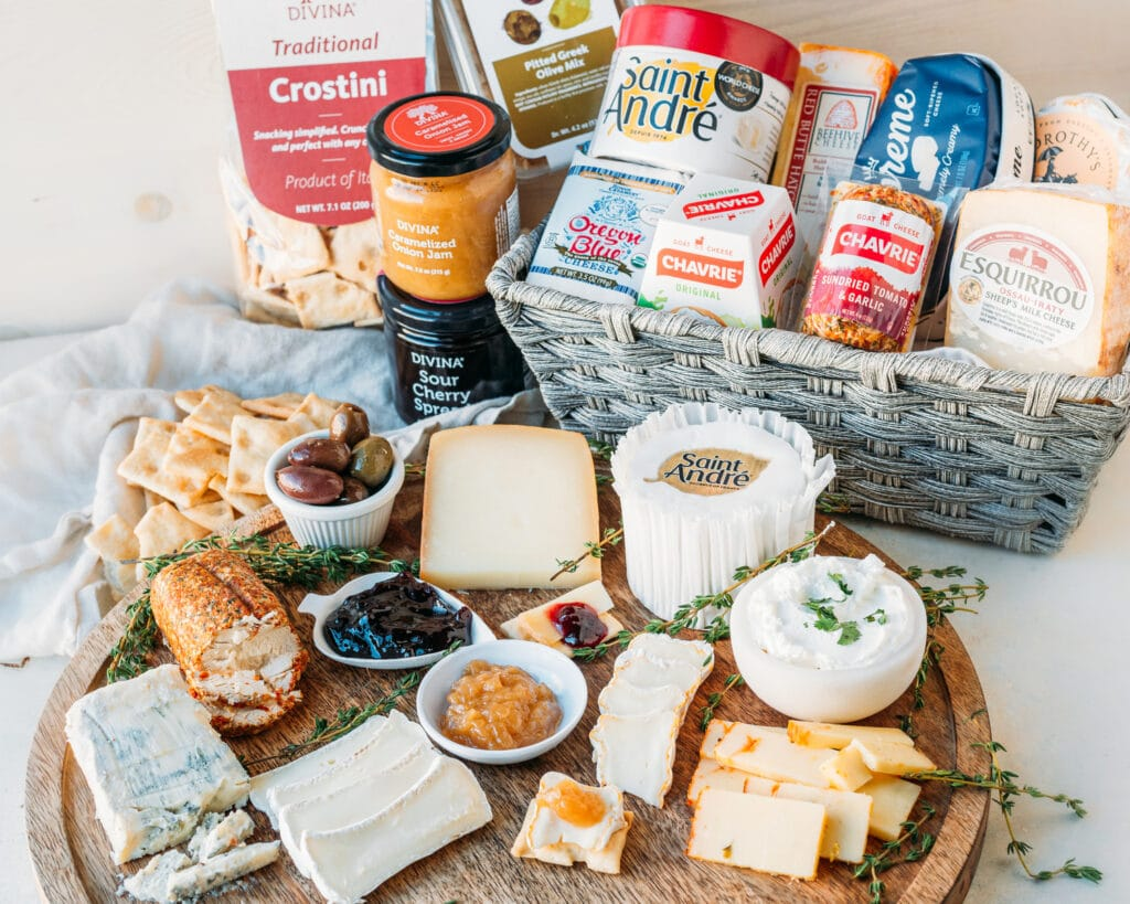 Chef greg cheese board