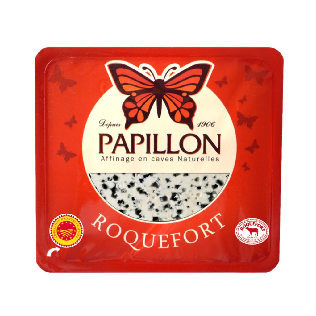 Papillon Roquefort packaging